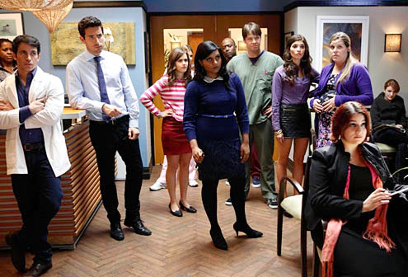 """The Mindy Project - Season 1 - """"Two to One"""" - Mindy Kaling"""