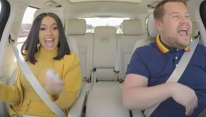 James Corden Is Giving Us All Cardi B Carpool Karaoke for Christmas