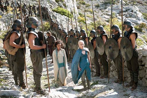 Game of Thrones - Season 4 - Michiel Huisman, Nathalie Emmanuel and  Emilia Clark