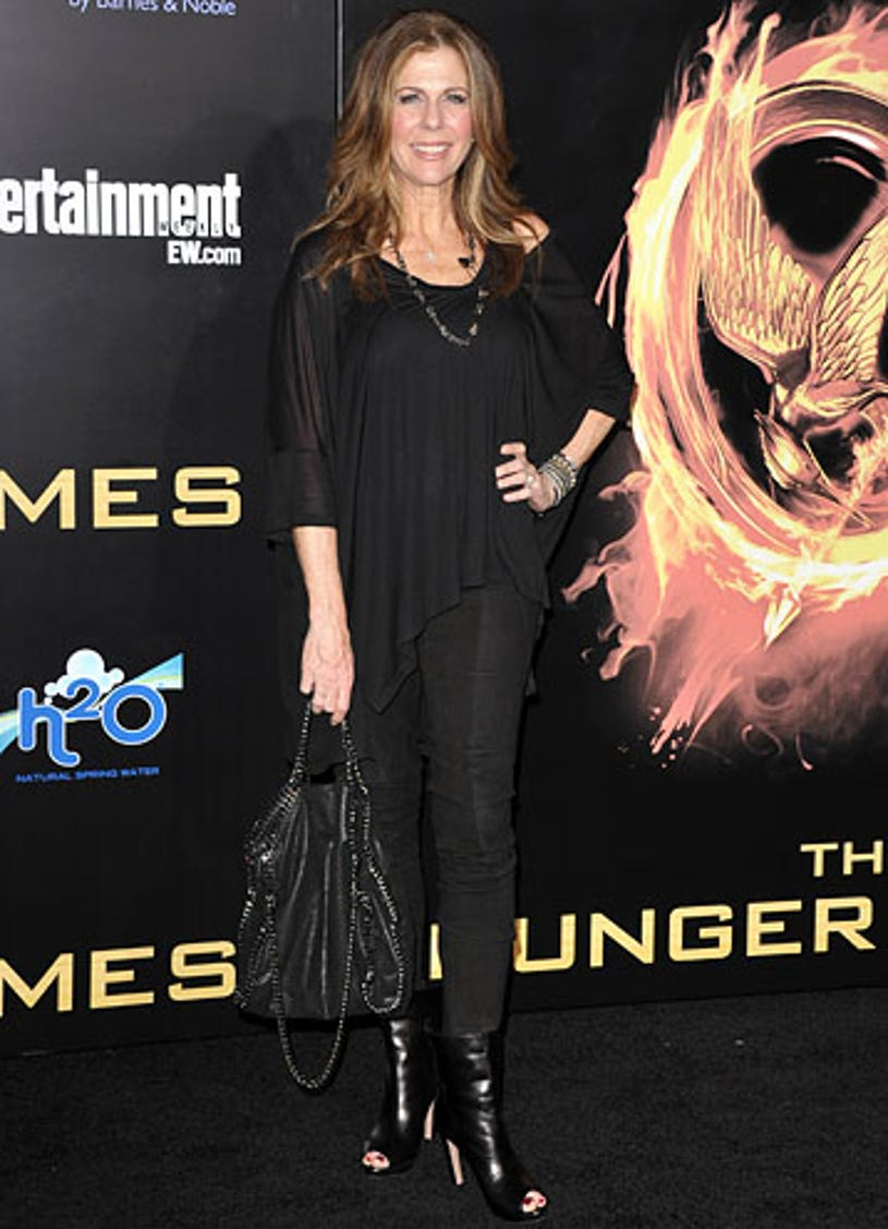 """Rita Wilson - """"The Hunger Games"""" Los Angeles premiere, March 12, 2012"""
