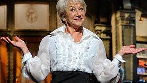 Helen Mirren Brings Her Magical Bosom to Saturday Night Live