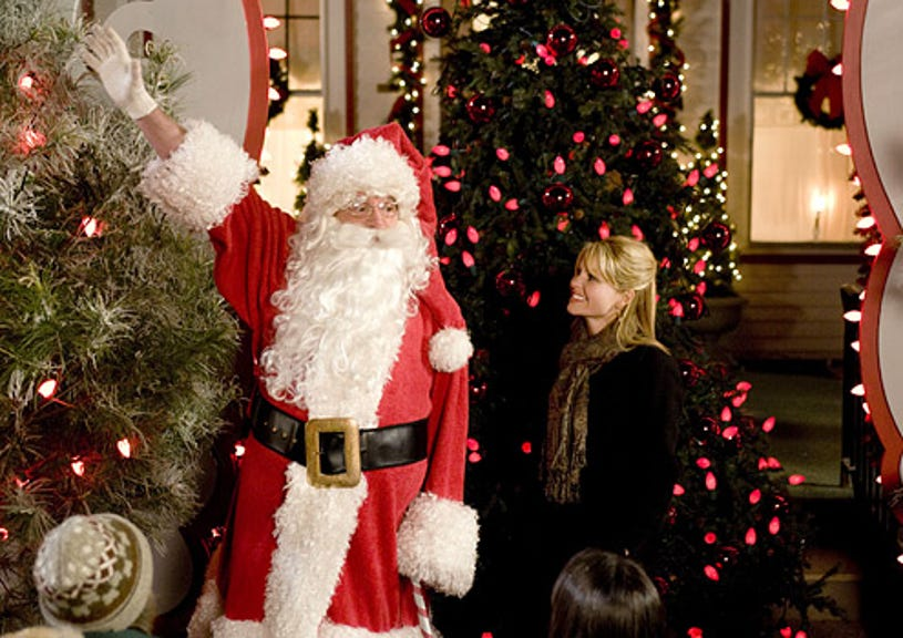 Moonlight and Mistletoe - Tom Arnold as Nick and Candace Cameron Bure as Holly