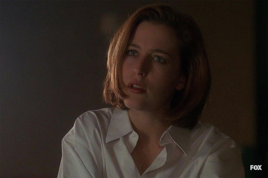 Gillian Anderson, The X-Files