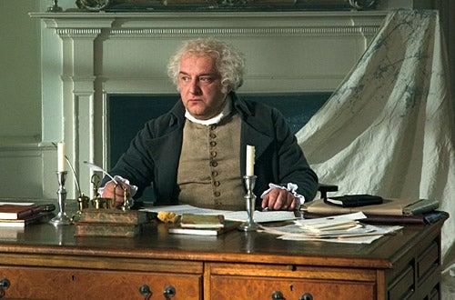 """American Experience - """"John & Abigail Adams"""" - Simon Russell Beale as """"John Adams"""""""