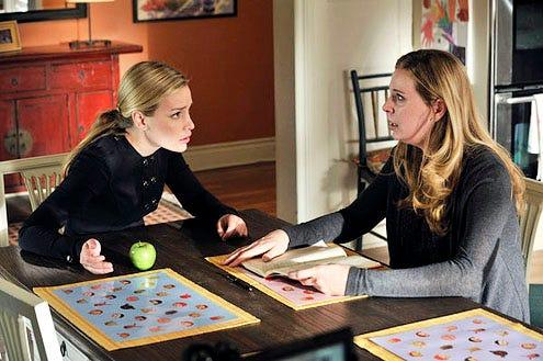 """Covert Affairs - Season 2 - """"Letter Never Sent"""" - Piper Perabo and Anne Dudek"""