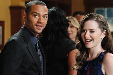 """Grey's Anatomy - Season 7 - """"With You I'm Born Again"""" - Jesse Williams, Sara Ramirez, Jessica Capshaw, Sarah Drew"""