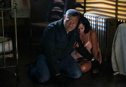"CSI - Season 11 - ""In a Dark, Dark House"" - Bill Irwin, Tracee Ellis Ross"