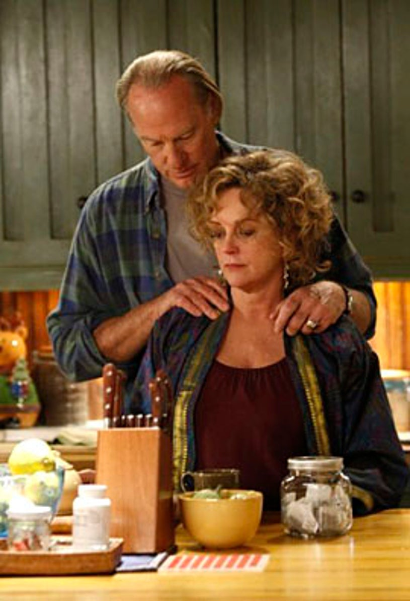 "Parenthood - Season 1 - ""Rubber Ball"" - Craig T. Nelson as Zeek Braverman and Bonnie Bedelia as Camille Braverman"