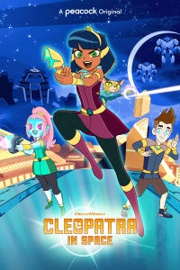 Cleopatra in Space as Akila/E Voice/Professor Jurval/Tablet Voice