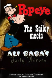 Popeye the Sailor Meets Ali Baba's Forty Thieves as Olive Oyl