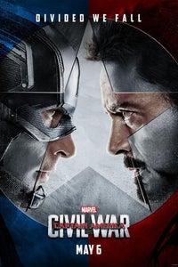 Capitão América: Guerra civil as Tony Stark/Iron Man