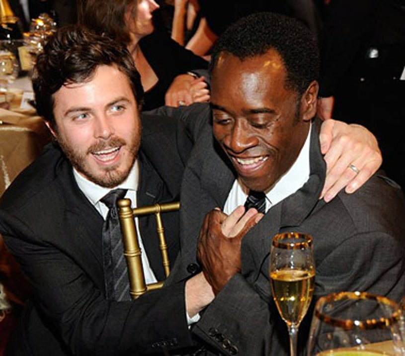 Casey Affleck and Don Cheadle -  in the audience at the 13th Annual Critic's Choice Awards, January 7, 2008