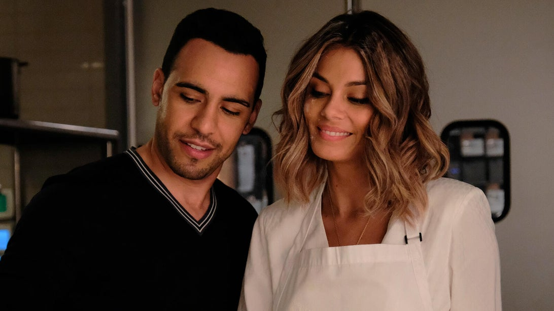 Victor Rasuk and Nathalie Kelley, The Baker and the Beauty