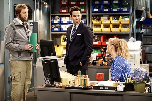 "Ground Floor - Season 1 - ""Pilot"" - Rory Scovel, Skylar Astin and Briga Heelan"