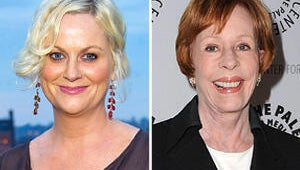Queens of Comedy: Amy Poehler and Carol Burnett Talk Sketches and Becoming BFFs