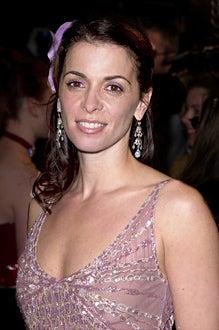 Annabella Sciorra at The 73rd Annual Academy Awards Vanity Fair party