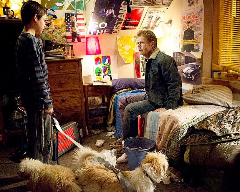 "Shameless - Season 4 - ""Strangers on a Train"" - Ethan Cutkosky and William H. Macy"