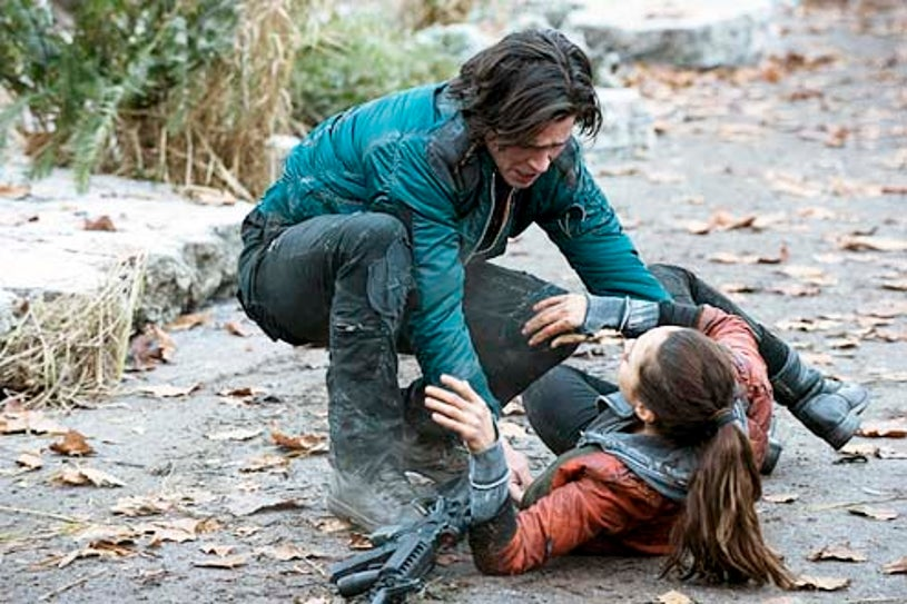 """The 100 - Season 1 - I Am Become Death"""" - Thomas McDonell and Lindsey Morgan"""