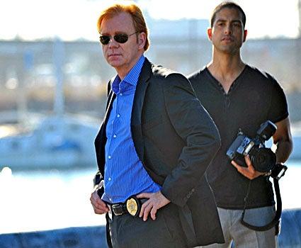 "CSI: Miami - Season 7, ""Power Trip"" - David Caruso as Horatio, Adam Rodriguez as Eric Delko"
