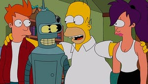 Futurama Returns for Time-Traveling Crossover With The Simpsons