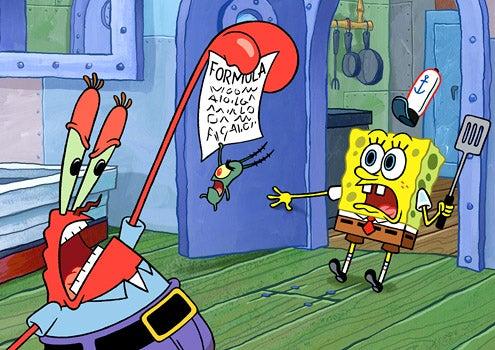 SpongeBob SquarePants - Mr. Krabs and SpongeBob SquarePants