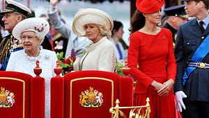 Royal Family Gathers for Queen's Jubilee Pageant