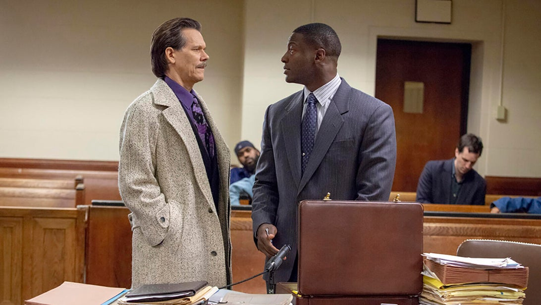 Kevin Bacon and Aldis Hodge, City on a Hill