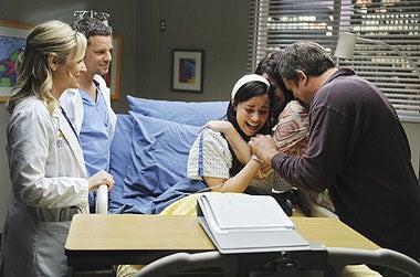 "Grey's Anatomy - Season 6 - ""Shiny Happy People"" - Jessica Capshaw, Justin Chambers, Demi Lovato, Amy Farrington, Jonathan Goldstein"