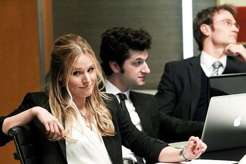 "House of Lies - Season 1 - ""Gods of Dangerous Financial Instruments"" - Kristen Bell, Ben Schwartz and Josh Lawson"