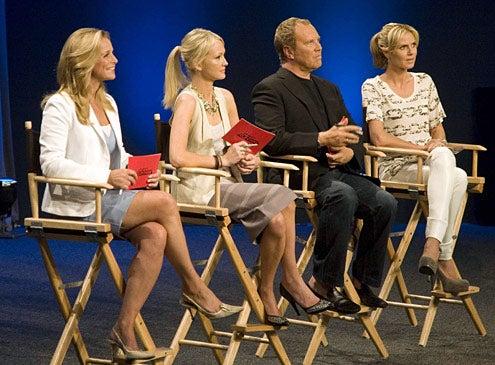 "Project Runway - Season 6 - ""The Sky is the Limit"" - Tamara Mellon, Zanna Roberts, Michael Kors, Heidi Klum"