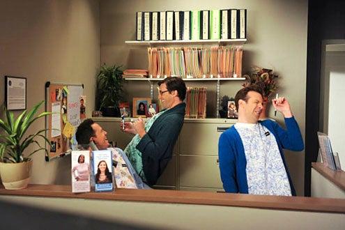 """30 Rock - Season 4 - """"Anna Howard Shaw Day"""" - Dean Winters, Jon Hamm and Jason Sudeikis"""