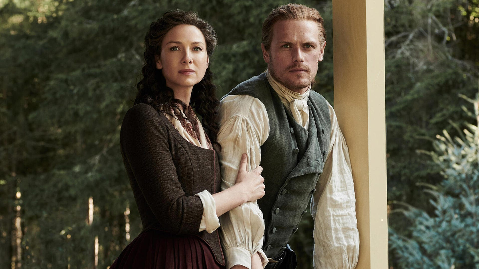 Caitriona Balfe and Sam Heughan, Outlander