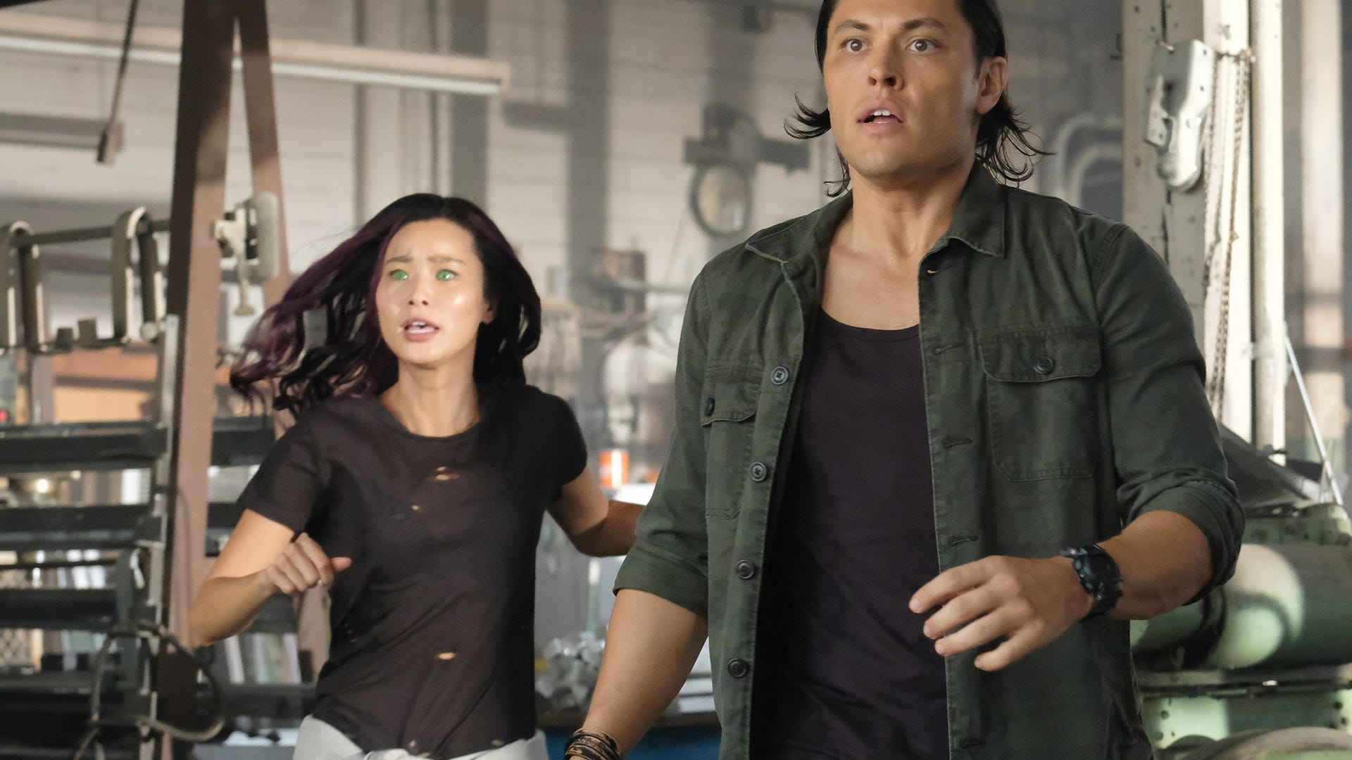 Jamie Chung and Blair Redford, The Gifted