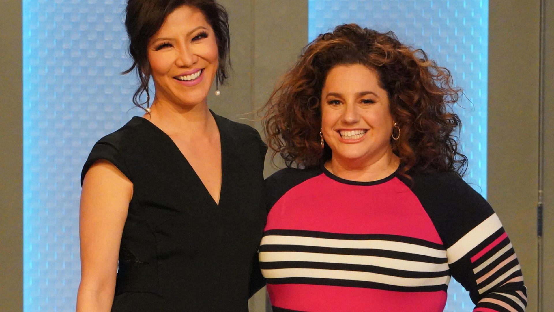 Julie Chen and Marissa Jaret Winkour, Big Brother: Celebrity Edition