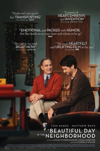 A Beautiful Day in the Neighborhood as Fred Rogers