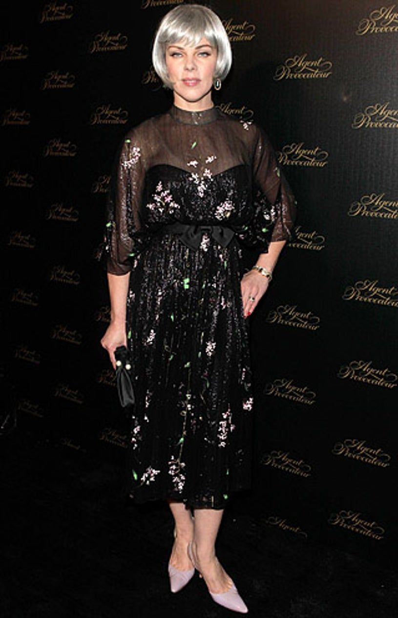 Debi Mazar - The Agent Provocateur Beverly Hills Rodeo Drive boutique opening, February 17, 2011
