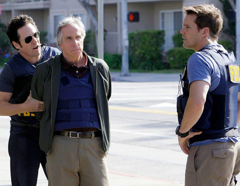 """Numb3rs - Season 5 - """"Greatest Hits"""" - Rob Morrow, Henry Winkler and Dylan Bruno"""