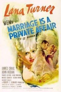 Marriage Is a Private Affair as Nurse
