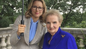 Madeleine Albright Will Guest-Star on Madam Secretary as the Ultimate Adviser -- Herself!