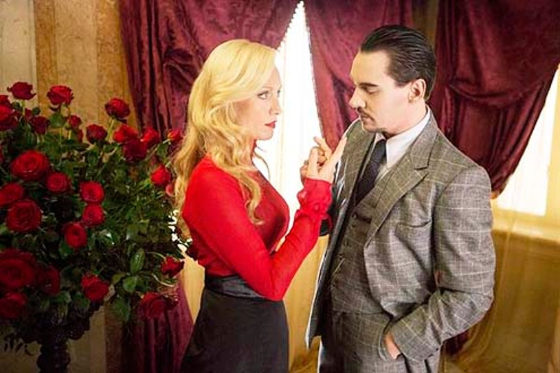 """Dracula - Season 1 - """"Servent To Two Masters"""" - Victoria Smurfit and Jonathan Rhys Meyers"""