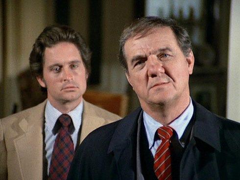 The Streets of San Francisco - Michael Douglas as Inspector Steve Keller and Karl Malden as Lt. Mike Stone, 1974