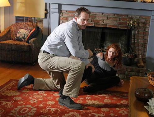 "Criminal Minds - Season 7 - ""Hope"" - Jack Coleman, Brigid Brannagh"
