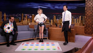 Watch Kristen Stewart and Jimmy Fallon Play Jell-O Shot Twister
