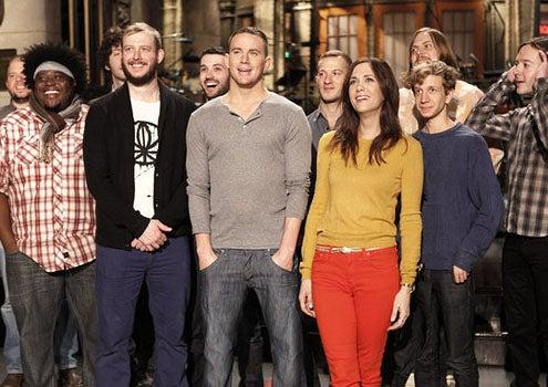 "Saturday Night Live - Season 37 - ""Channing Tatum"" - Bon Iver, Channing Tatum and Kristen Wiig"