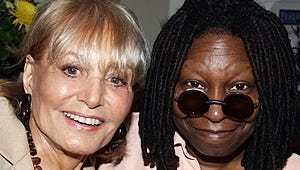 """Whoopi and View Ladies Pay Tribute to Swayze: """"We Lost a Very Special Person"""""""