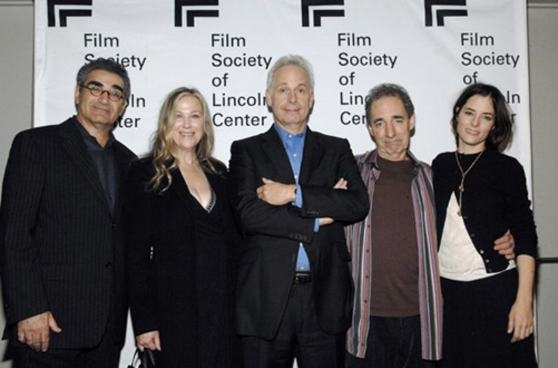 """Eugene Levy, Catherine O'Hara, Christopher Guest, Harry Shearer and Parker Posey - screening of """"For Your Consideration"""", Nov. 2006"""