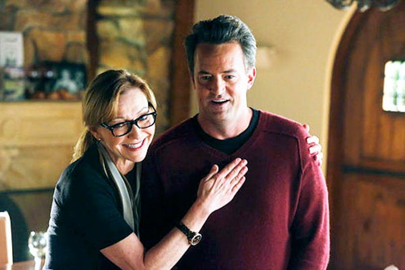 """Go On - Season 1 - """"The World Ain't Over 'Til It's Over"""" - Julie White and Matthew Perry"""