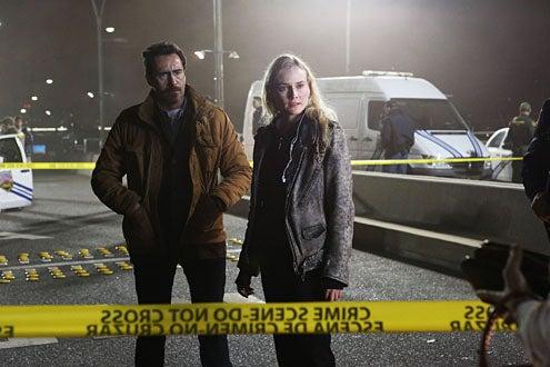The Bridge - Season 1 - Demian Bichir as Marco Ruiz, Diane Kruger as Sonya Cross
