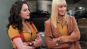 "2 Broke Girls Stars: Lindsay Lohan Was ""Sweet"" and ""Professional"" on Set"