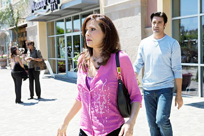 """Switched at Birth - Season 1 - """"The Homecoming"""" -  Constance Marie and Gilles Marini"""